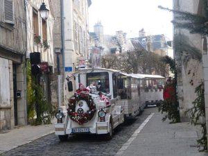 Petit Train rue ville Bourges